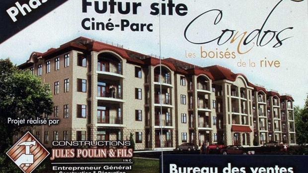 Le projet de condos au cin parc saint georges pourrait for Projet de construction