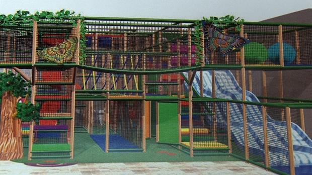 Un parc d 39 amusement int rieur saint georges for Parc d interieur