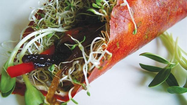Alimentation vivante une chef en cuisine crue prodiguera - Cuisine crue et vivante ...