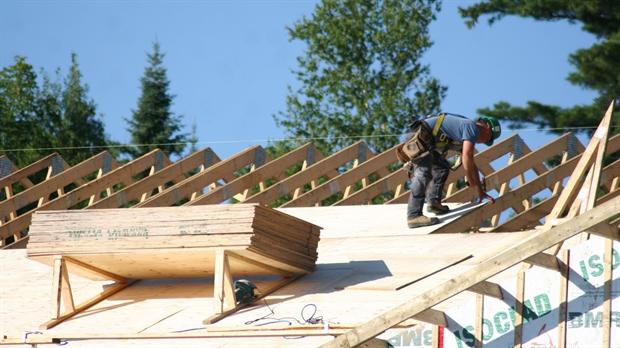 La valeur des permis de construction est en hausse de 16 m for Permis de construction
