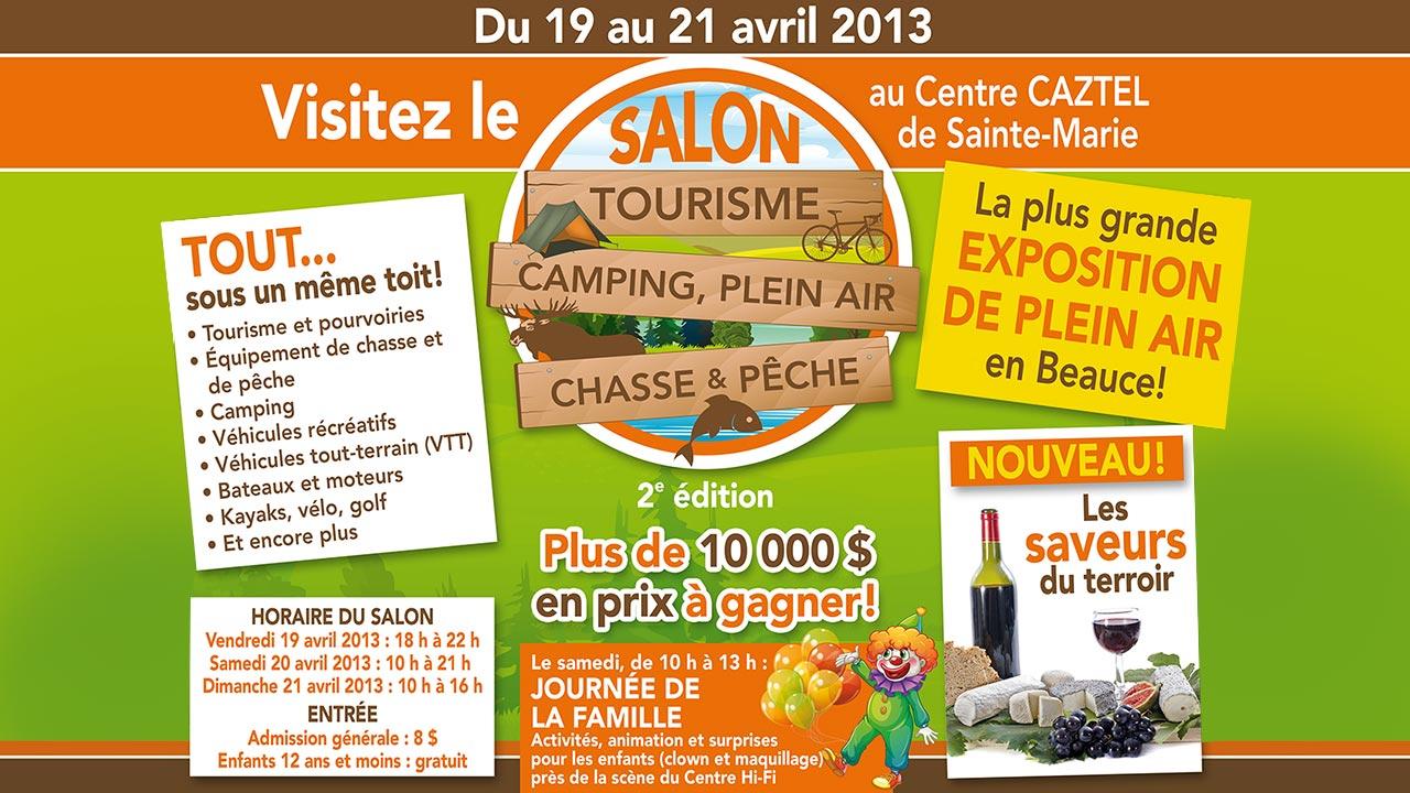 Salon tourisme camping plein air chasse p che sports - Salon de la chasse saint gely du fesc ...
