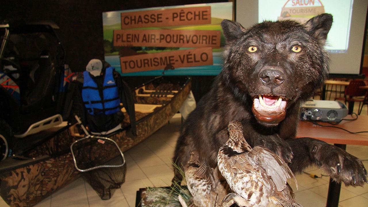 Le salon camping plein air chasse et p che de retour - Salon de la chasse saint gely du fesc ...
