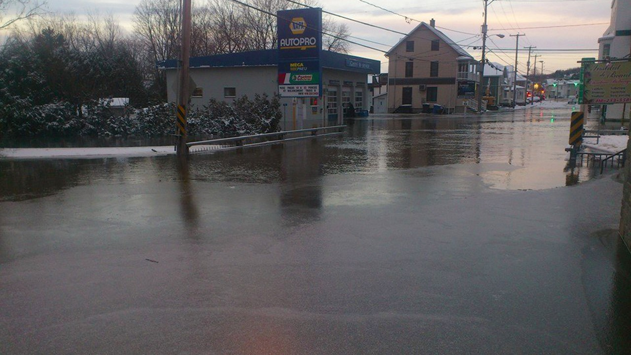 Inondations Majeures Dans Beauce Nord Enbeauce Com