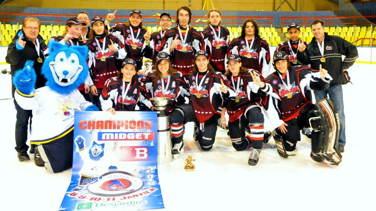 Le Garaga Midget B1 grands champions du tournoi Provincial de Rivière du ... - EnBeauce.com