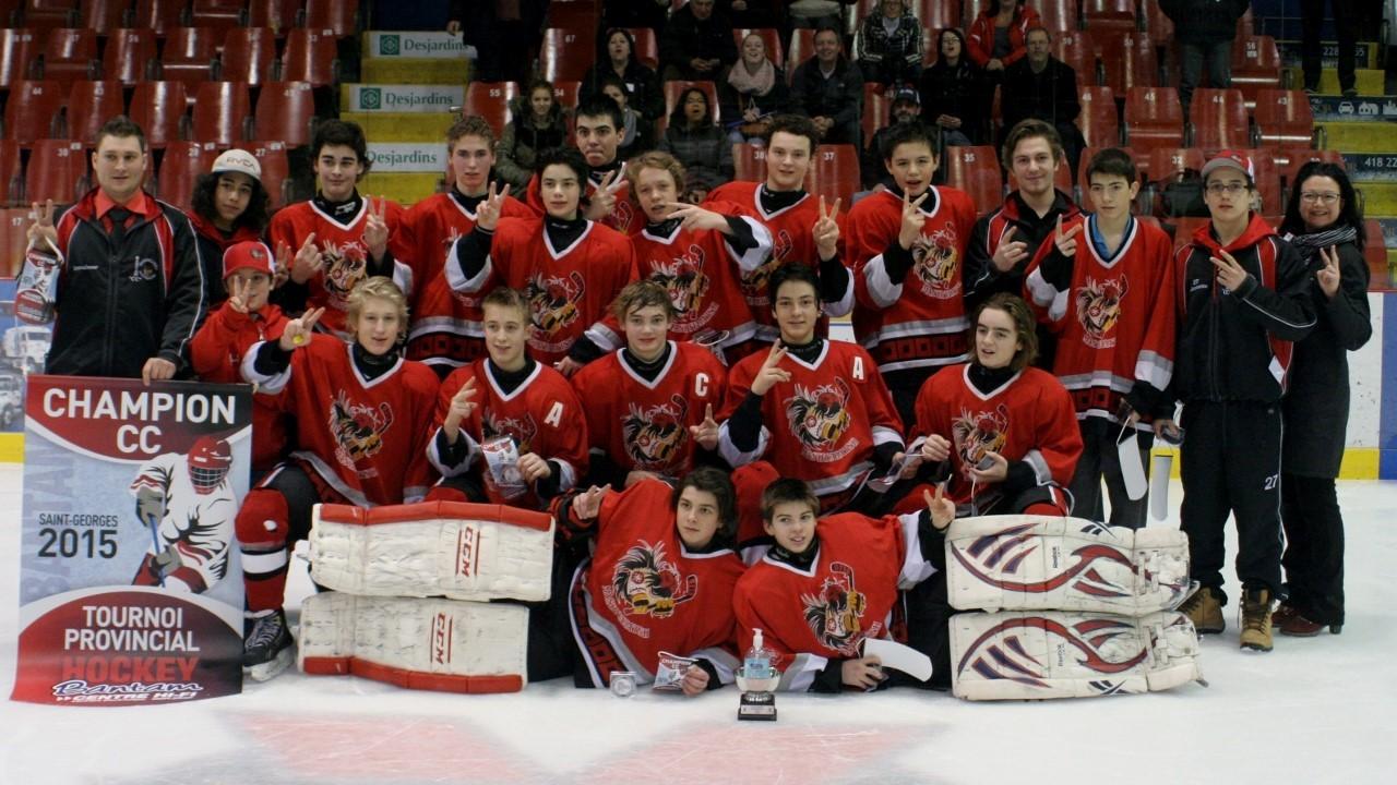 Midget dolbeau hockey tournoi