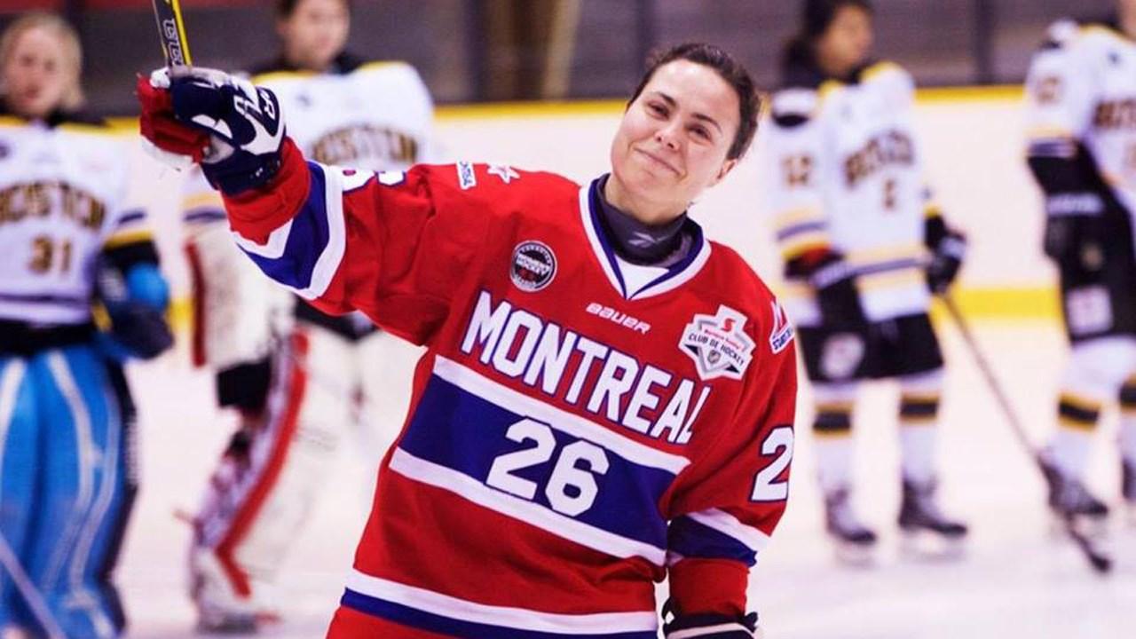 Lisa-Marie Breton La hockeyeuse LisaMarie BretonLebreux confirme sa retraite
