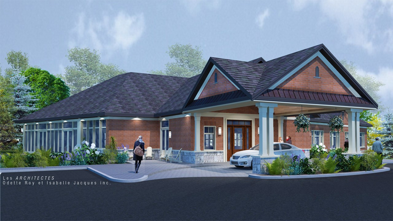 Une nouvelle demeure pour la maison catherine de longpr for Www conception de la nouvelle maison