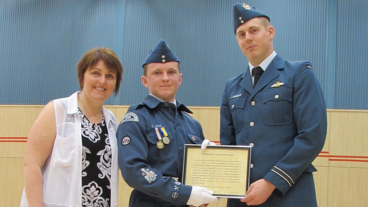 L'Escadron 881 de Saint-Joseph-de-Beauce récompense ses cadets - EnBeauce.com