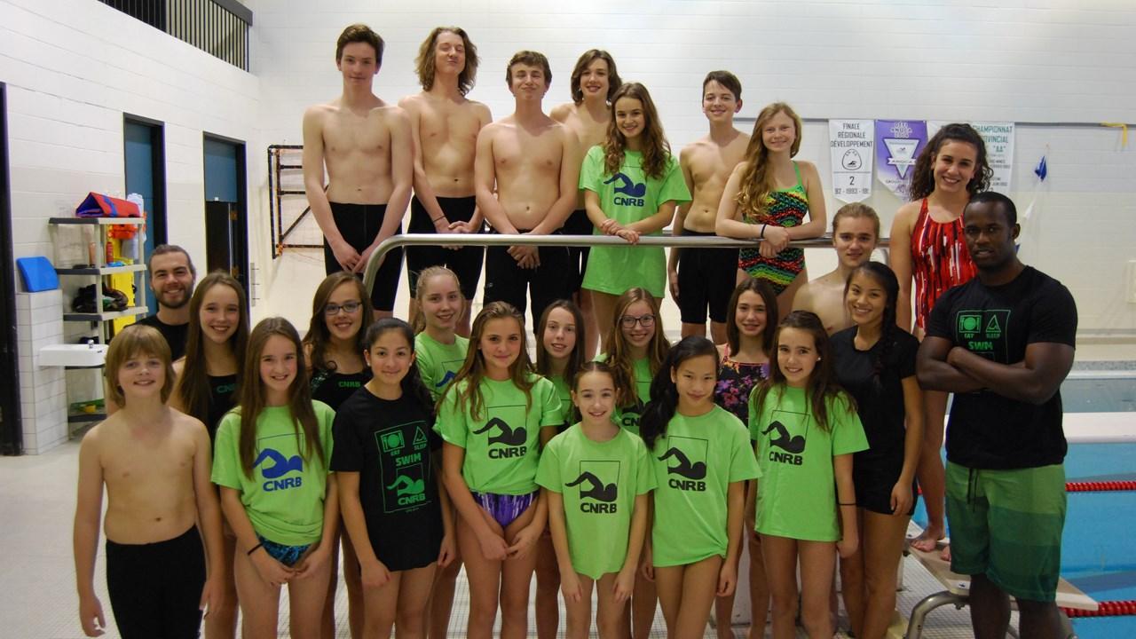 Le cnrb remporte 24 m dailles lors de la finale de l for Club piscine vaudreuil quebec
