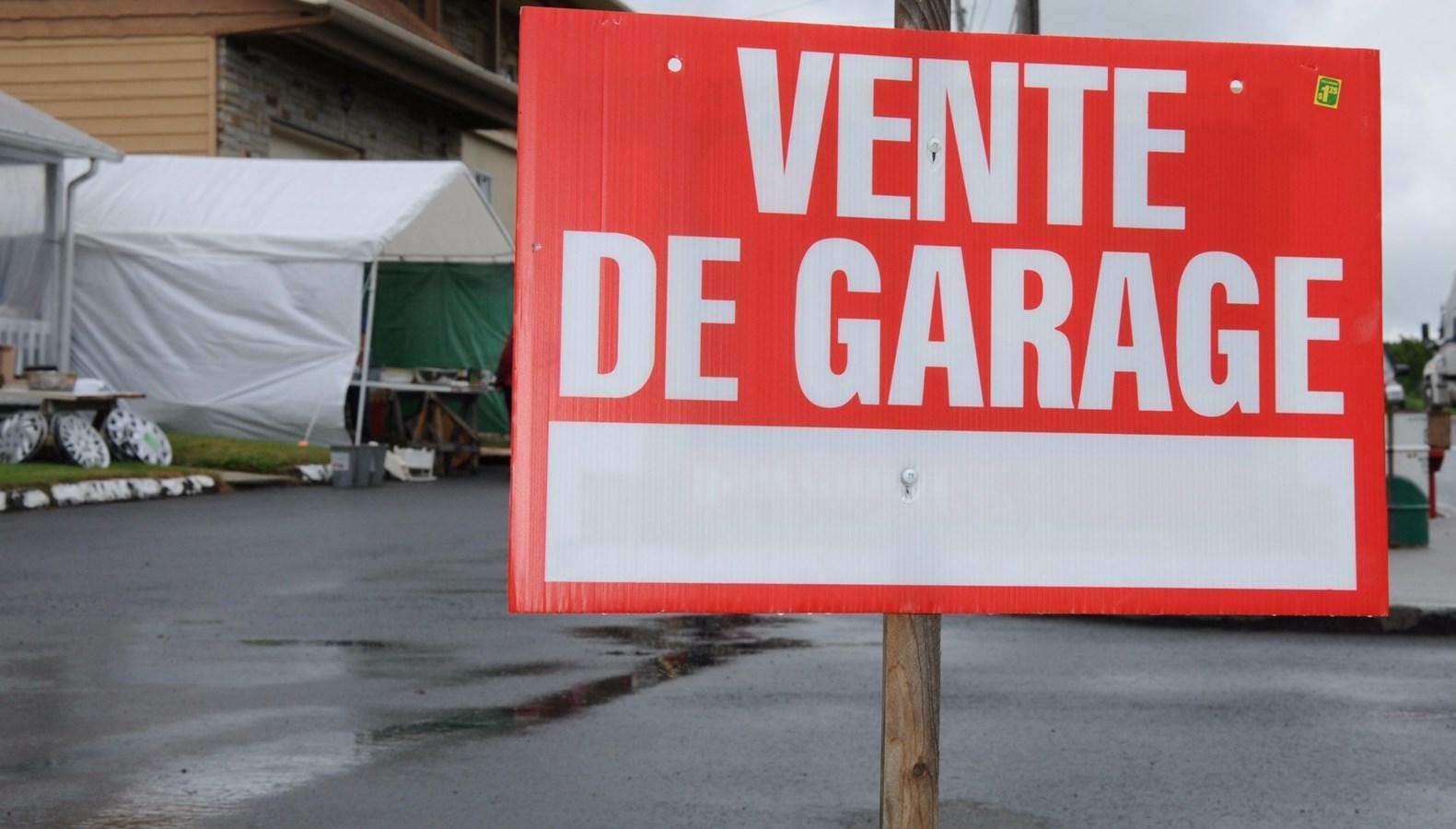 Vente De Garage Annuelle Pour Notre Dame Des Pins Et Saint