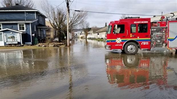 La crue des cours d'eau toujours sous surveillance
