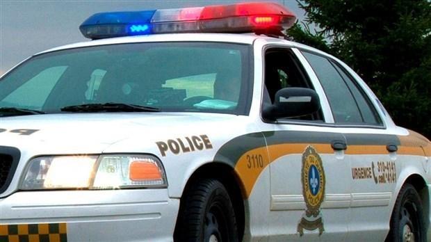 Grave accident à Sainte-Clothilde, la route 271 est fermée