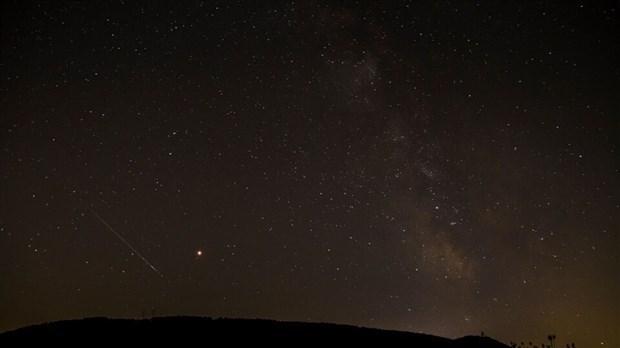 Une pluie d'étoiles filantes visible dans la nuit de dimanche à lundi