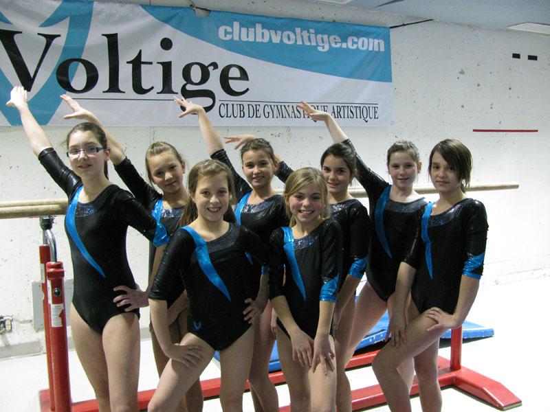 De Bonnes Performances Pour Les Gymnastes Du Club Voltige