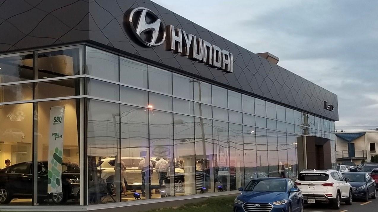 De Nouveaux Locaux Pour Le Concessionnaire Hyundai Beauce