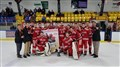 Les Dragons juvéniles hockey de Saint-Georges triomphent
